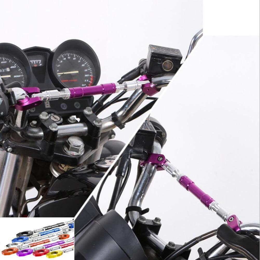 "Black 22mm 7//8/"" Universal Motorcycle Motorbike Adjustable Handlebar Crossbar"