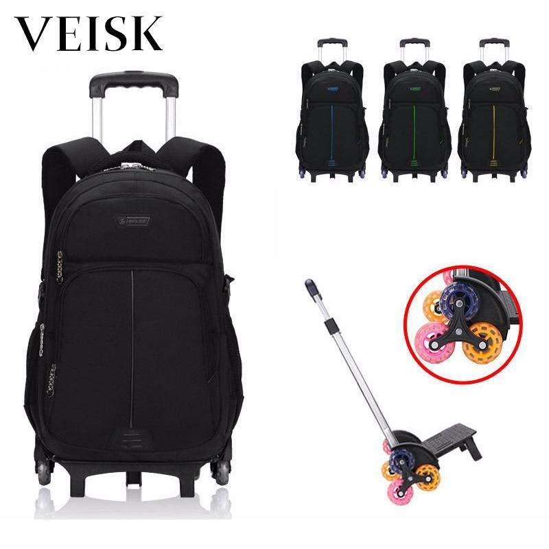 Veisk Rod Bag Primary School Students Middle School Students Removable New Style Stairs 6 W