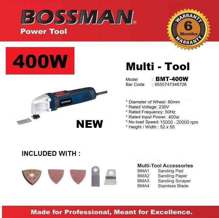 [new] Bossman Multi Tool / Multi Cutter 400w Bmt-400w By Seong Hin.