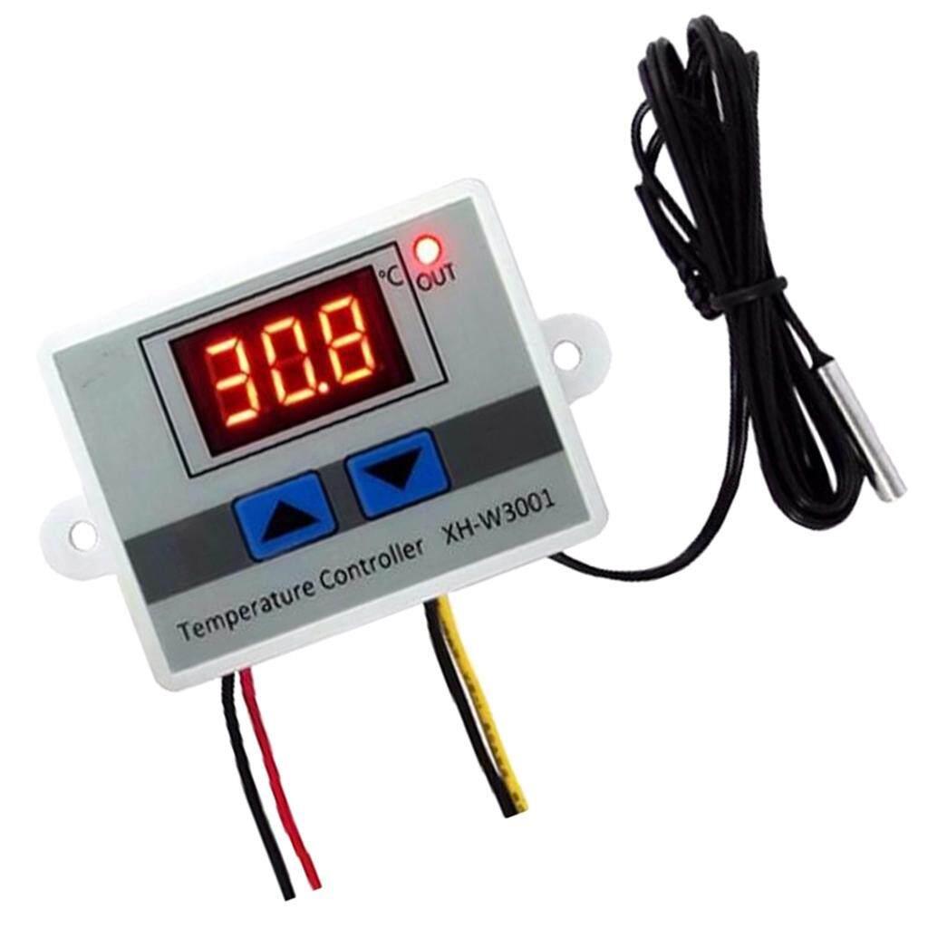 Blesiya Termostat Layar Digital Suhu Controller, Pengatur Temperatur Switch