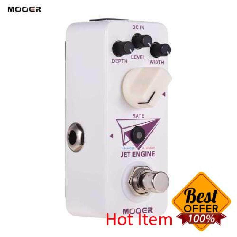 Mooer Jet Engine Digital Multi-Frequency Flanger Pedal Electric Guitar Effect Pedal True Bypass Micro Series Compact Pedal (Standard) Malaysia