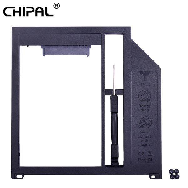 CHIPAL SATA 3.0 2nd HDD Caddy 9.5mm for 2.5  7mm 9mm Hard Disk SSD Case for Apple Macbook Pro Air 13  15  17  SuperDrive Optibay