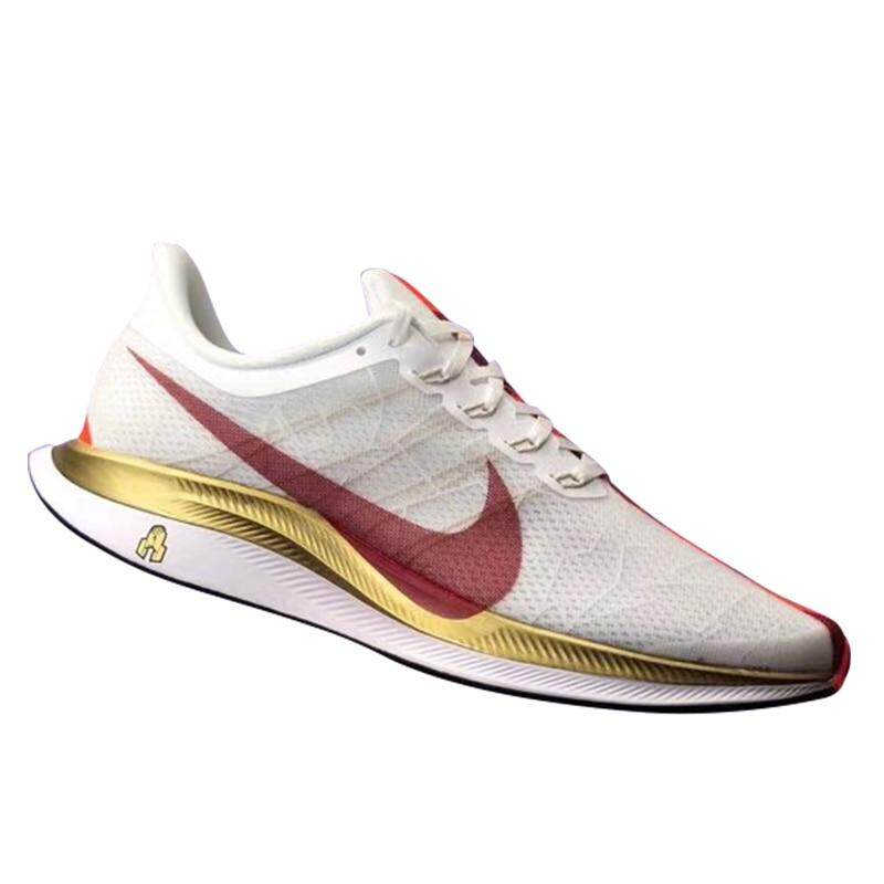 Original NIKE_Zoom Pegasus 35 Turbo Men Running Shoes, Wear-resistant Shock Absorbing Breathable Lightweight Training shoes