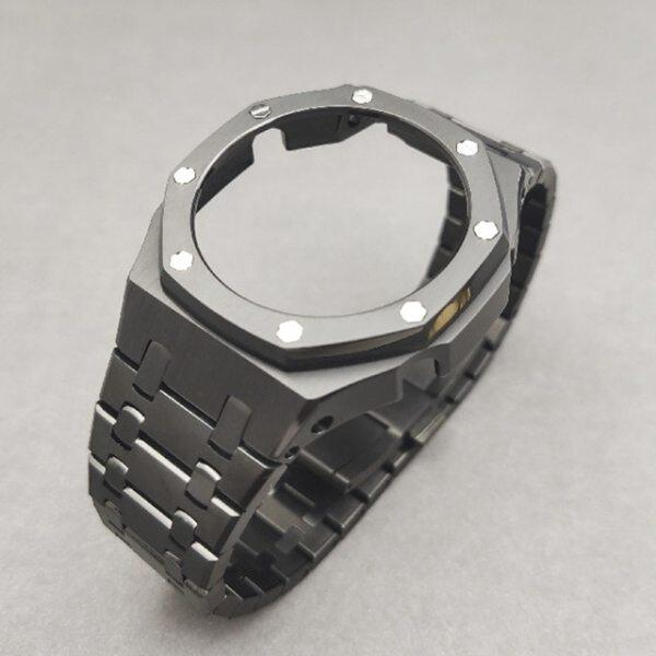 3rd Generation GA2100 Case Modification GA2110 Watchband Bezel 100% Metal 316L Stainless Steel Malaysia