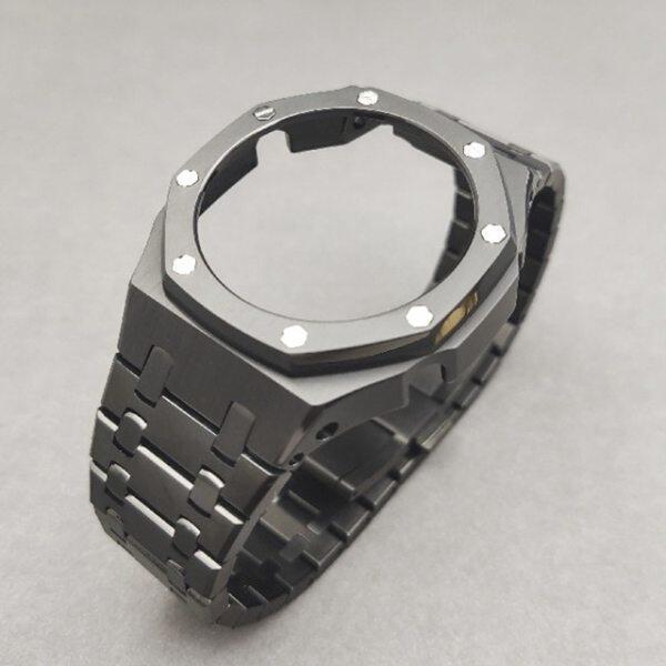 3rd Generation GA2100 Case Modification GA2110 Watchband Bezel 100% Metal 316L Stainless Steel Malaysia