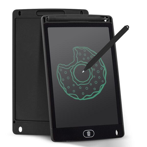 Aibecy Portable 8 Inch LCD Viết T-ablet Bảng Vẽ Điện Tử Siêu Mỏng Bảng Viết Tay Có Thể Tái Sử Dụng Với Bút Stylus Nút Xóa Quà Tặng Cho Trẻ Em Học Sinh Người Lớn Ở Nhà Văn Phòng Đi Du Lịch