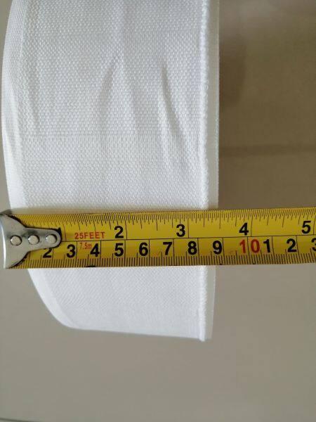 """Curtain tape 3.5"""" Sesuai untuk jahit langsir Masuk cangkuk 4 pin"""