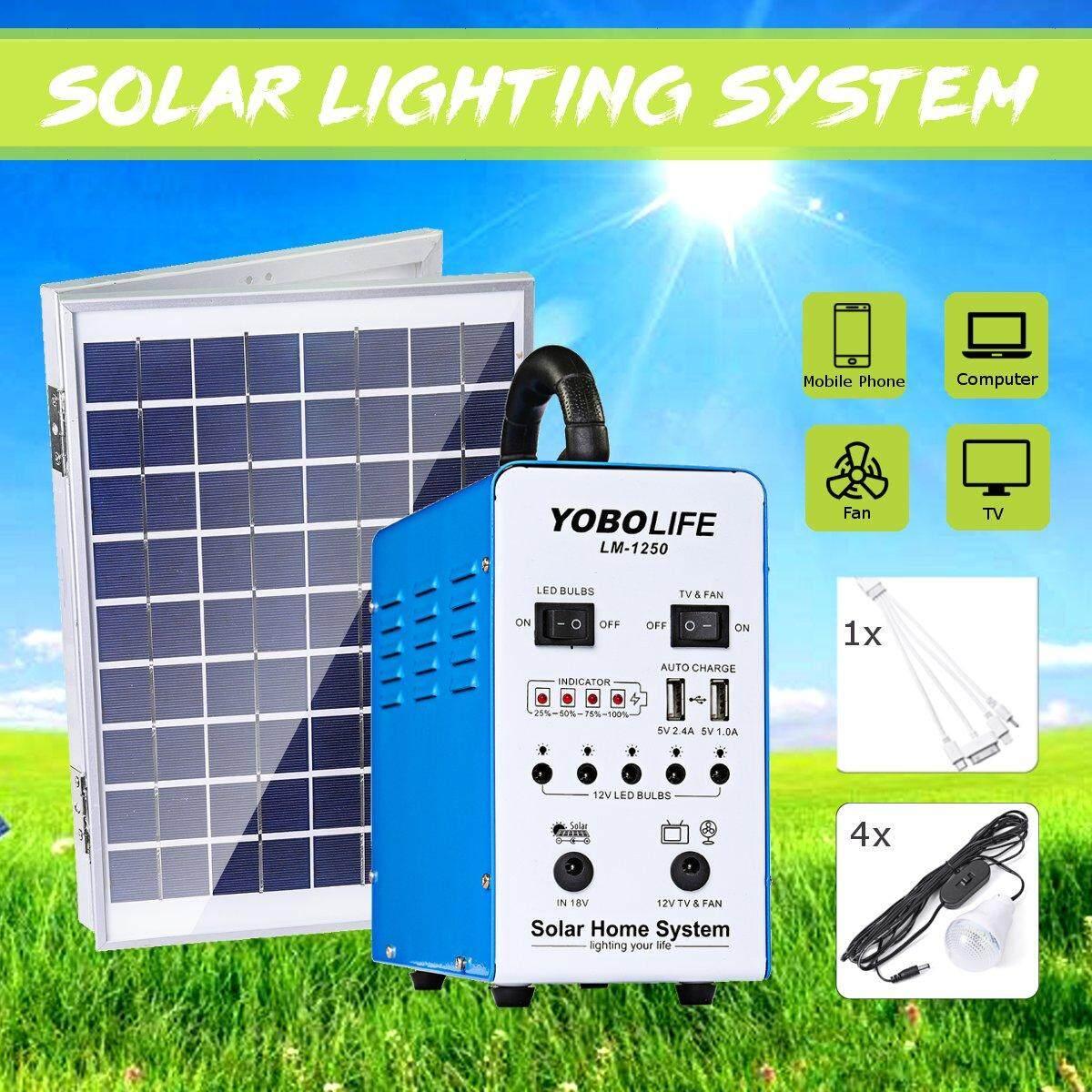 Solar Panel Generator Portable Solar Generator Kit Powered Iron Shell Solar Energy Solar Powered System