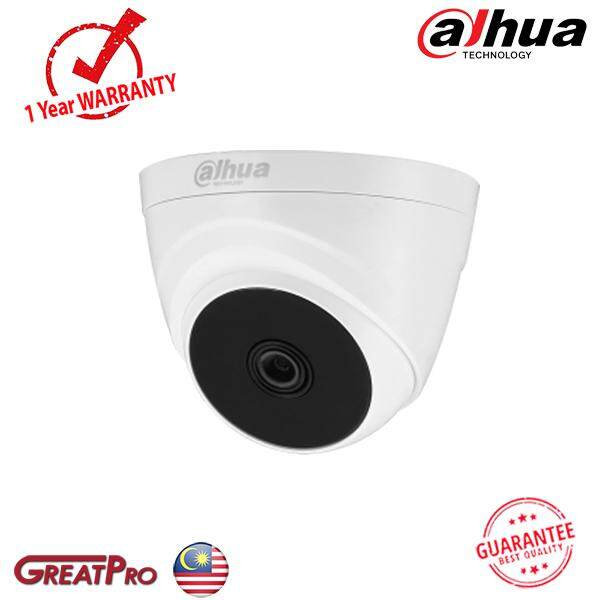 Dahua 2mp Hd-Cvi 1080p Indoor Ir Eyeball Dome Camera (dh-Hac-T1a21p) -Greatpro By Greatpro Trading.