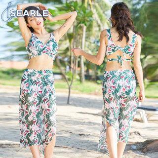 SE Áo Tắm Cho Nữ, Đồ Bơi Bikini Đi Biển Ba Mảnh thumbnail