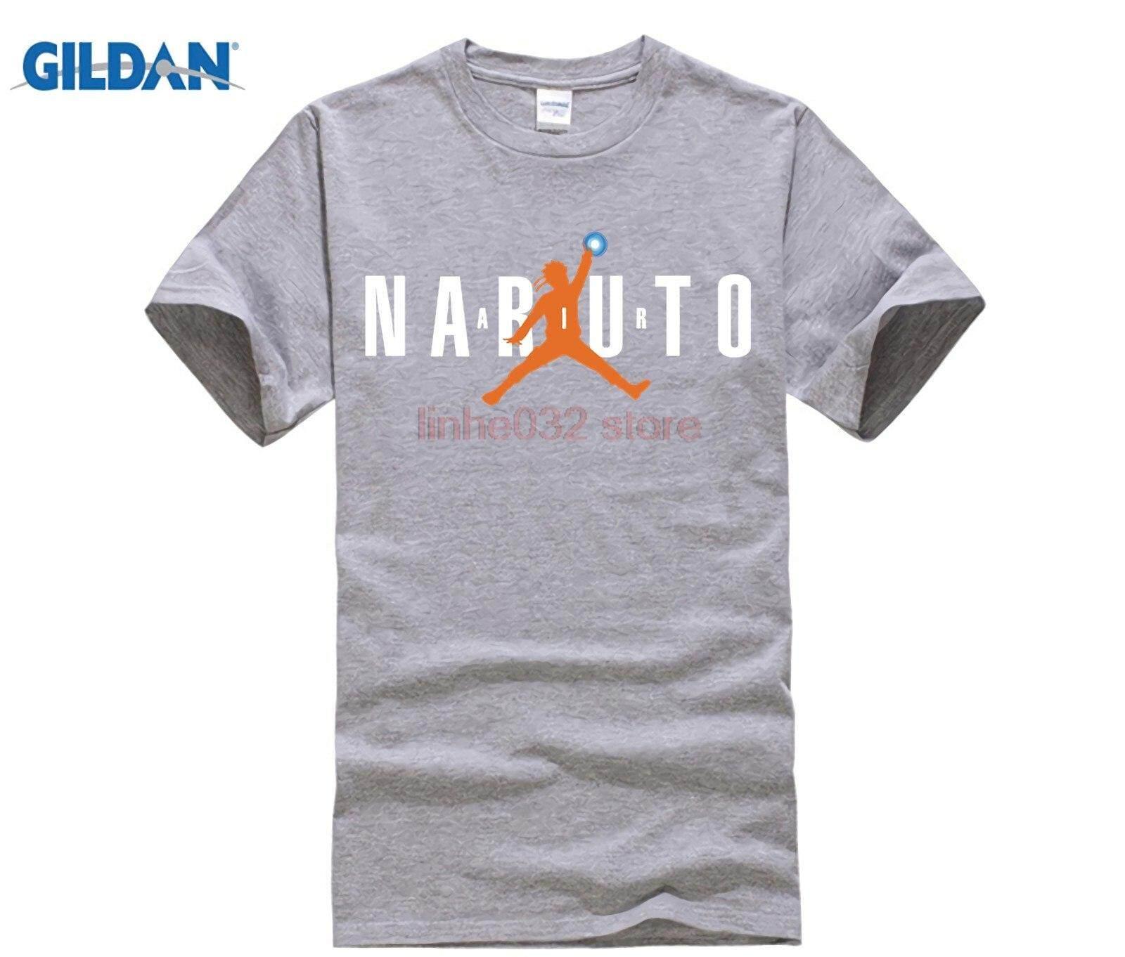 fe62567d7619b ZK 2018 Cool Designer Air Naruto T Shirts Men Round Neck Short Sleeve Anime  Teeshirt design