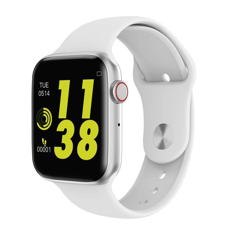 W34 Panggilan Bluetooth Smartwatch EKG Monitor Denyut Jantung Jam Pintar untuk Android iPhone Xiaomi