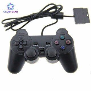 GloryStar PS2 Kết nối có dây Người điều khiển trò chơi Rung kép Gamepad Cần điều khiển Đối với PlayStation 2 Bảng điều khiển trò chơi máy tính thumbnail