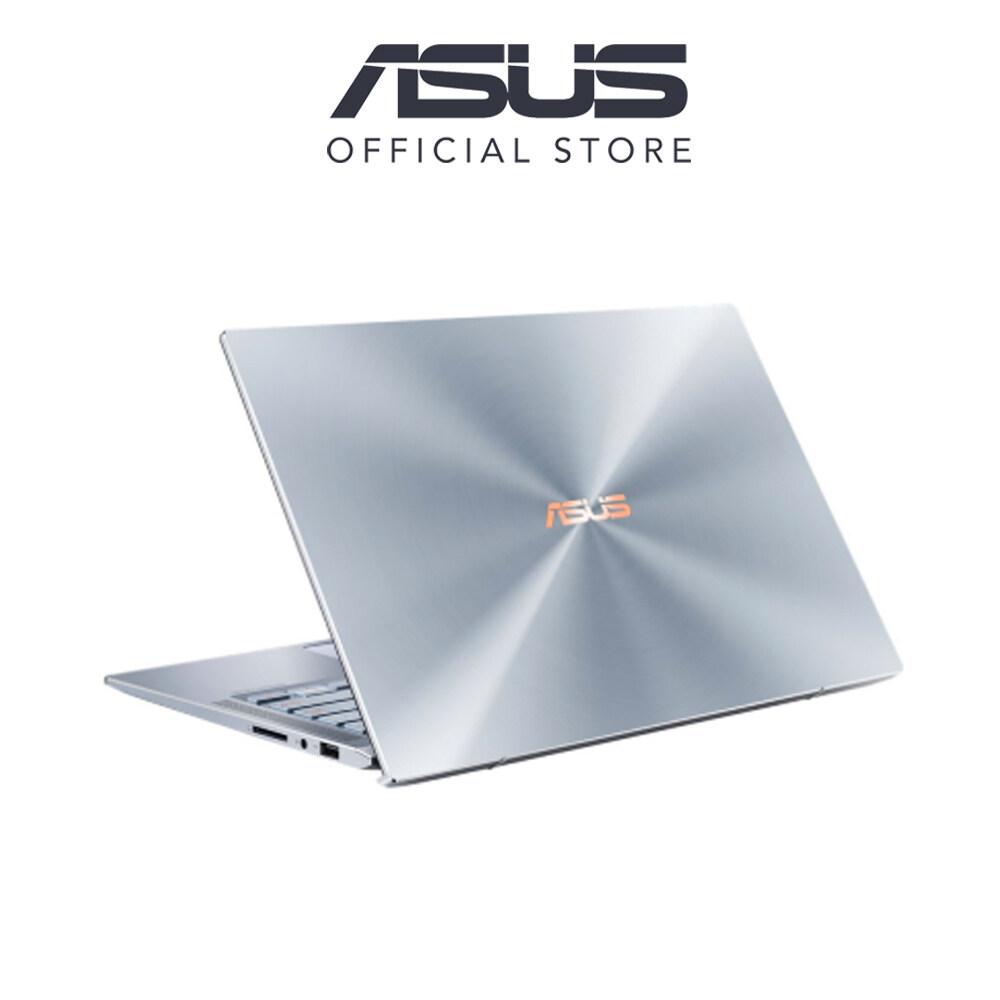 Asus Zenbook UM431D-AAM071T 14 FHD Laptop Silver Blue (Ryzen 5-3500U, 8GB, 512GB SSD, ATI, W10) Free Sleeve Malaysia