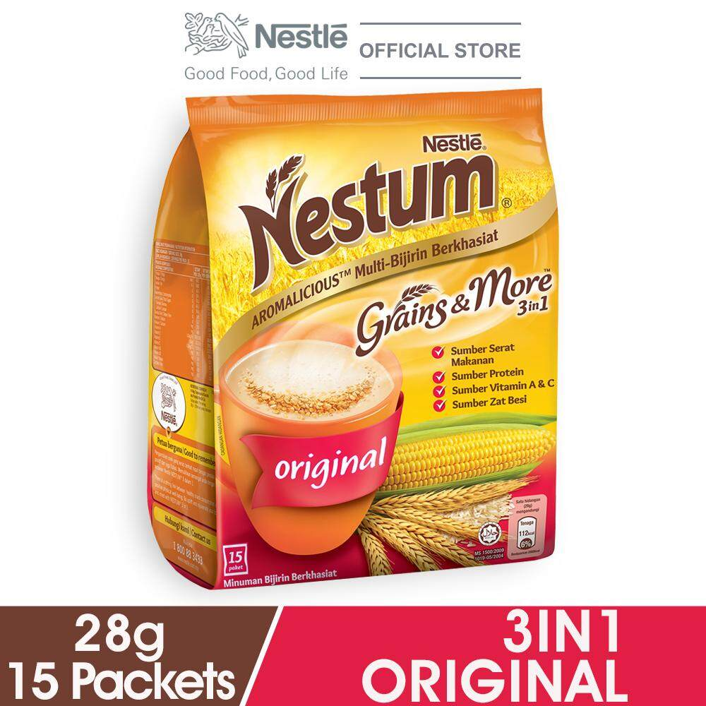 Nestum 3in1 Original 15x28g By Lazada Retail Nestle Milk.