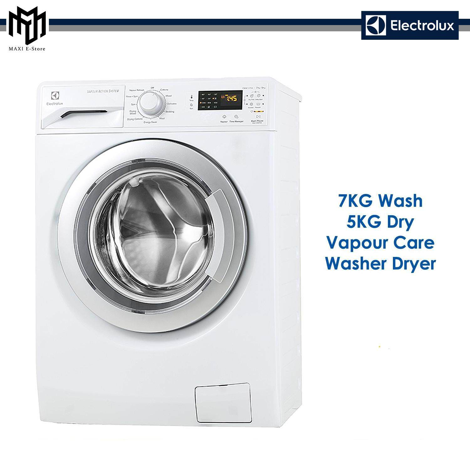 Electrolux 7kg / 5kg Washer Dryer Eww12753 By Maxi E-Store.