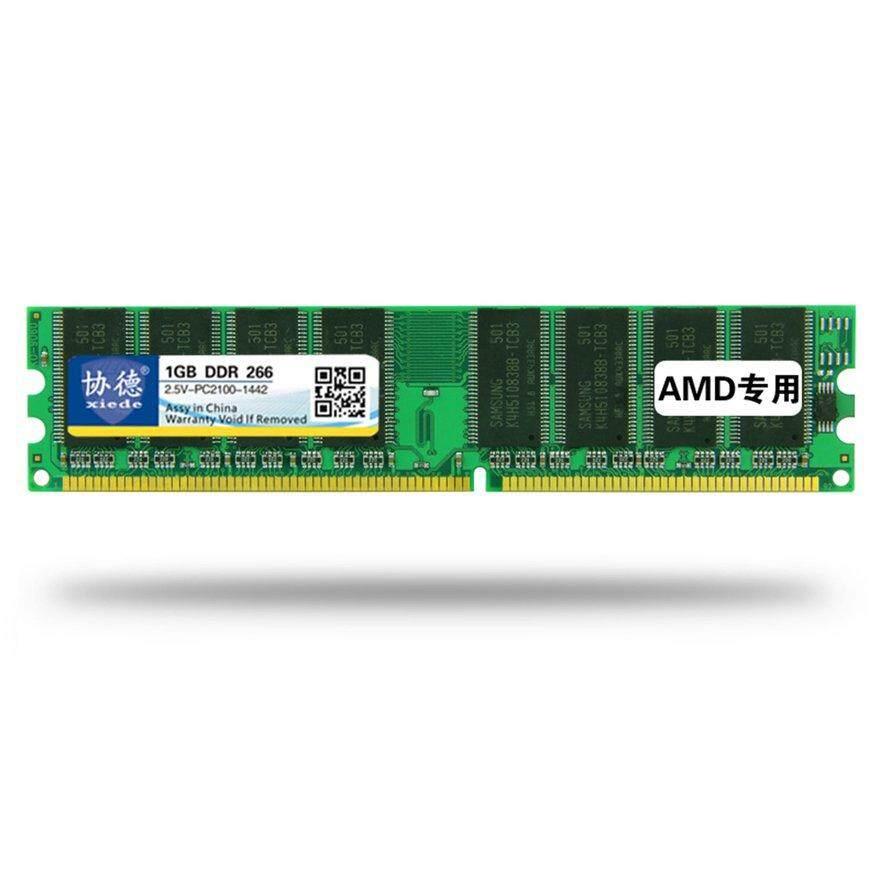 Uinn Xiede DDR 266 1G Desktop Memori PC Memoria Modul PC-2100 AMD Khusus