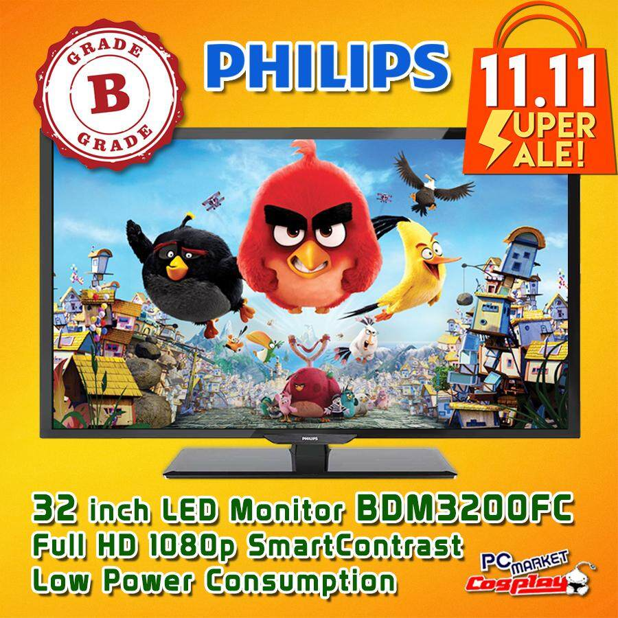 Philips BDM3200FC 32 inch LED-backlit LCD Display Computer Monitor (Grade B) Malaysia