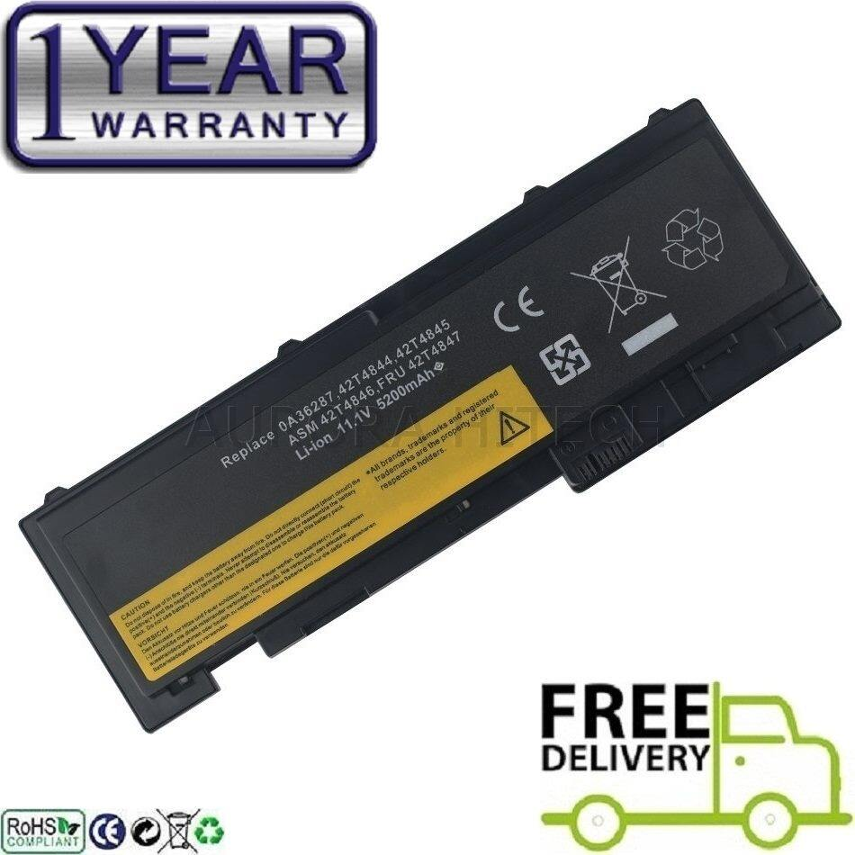 IBM Lenovo ThinkPad T420s T420si T420s 4171-A13 0A36287 42T4844 42T4845 ASM 42T4844 ASM 42T4846 FRU 42T4847 BATTERY66 BATTERY66+ 66 66+ 6 Cells 5200mAh Notebook Laptop Battery Malaysia