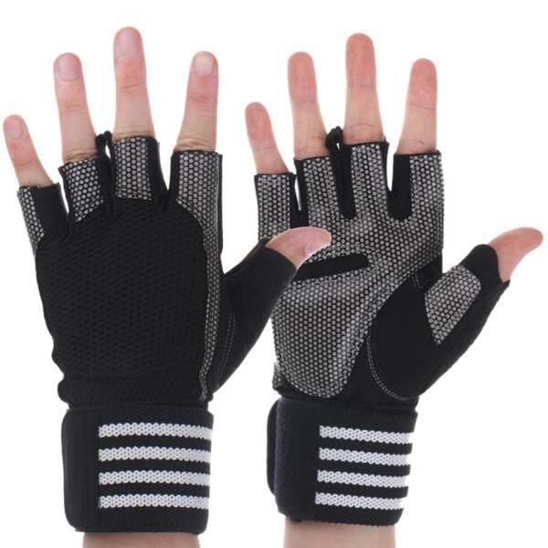 Bảng giá 1 Nâng Trọng Lượng Bảo Vệ Hỗ Trợ Thể Thao Không Trơn Tập Gym Fingerless Gloves