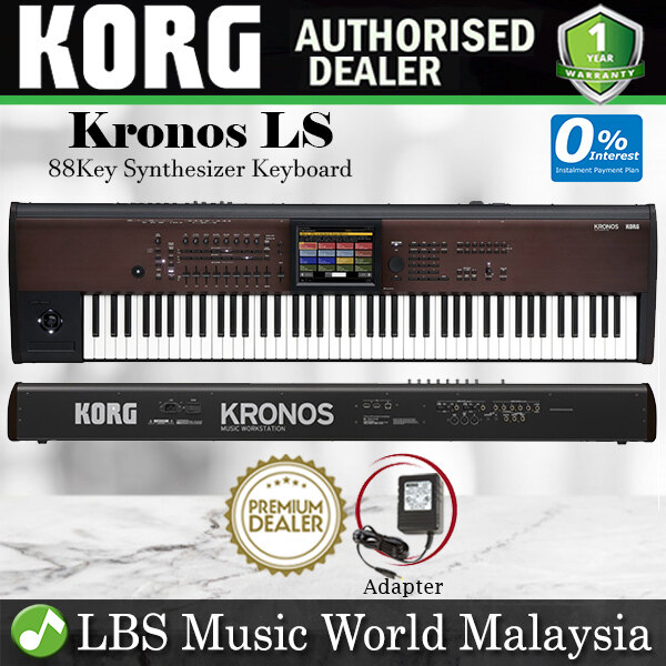 Korg Kronos LS 88 key Synthesizer Workstation Portable Keyboard (Kronos88 Kronos-88) Malaysia
