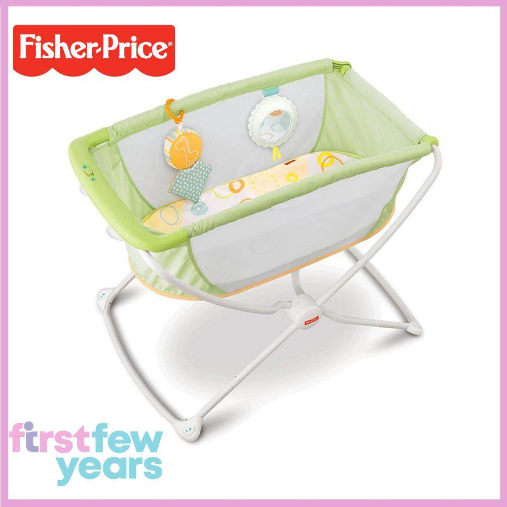 Fisher Price Rock N Play™ Portable Bassinet - Green By First Few Years.
