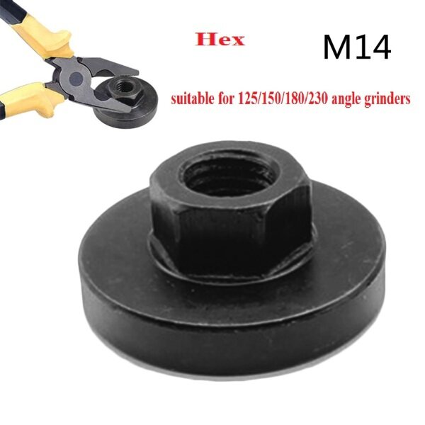 Reliable M14 Hex Nut Set Hex nut tool M14 Accessory Tool DIY Hex Nut For Angle Grinder High quality