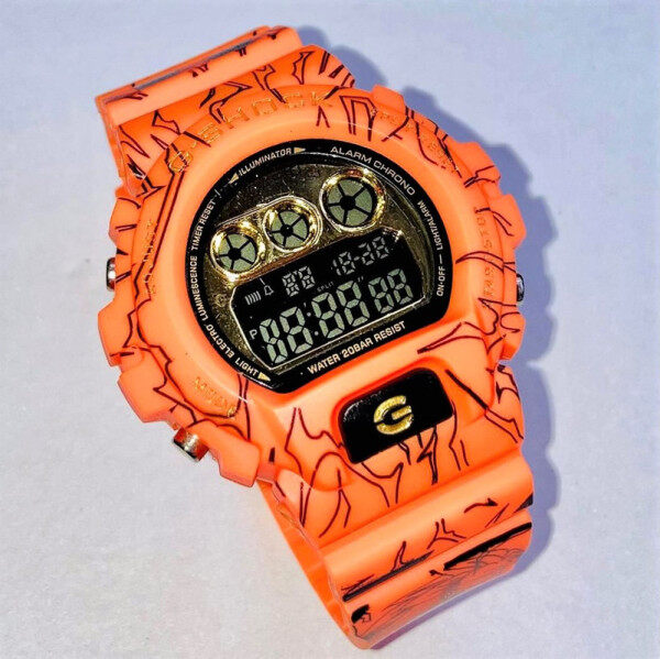 New Sport Collection Casio_G_SHOCK_DW Digital Time Display Smart Fashion Casual Watch For Unisex Malaysia