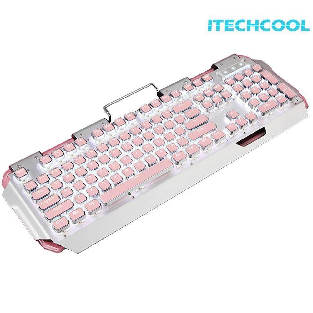 X10 Mechanical RGB Backlit 104 Key Gaming Wired Keyboard for Laptop Desktop Singapore