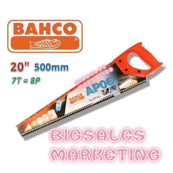 BAHCO 20 x AP06 Wood Hand Saw Original Made In Sweden / Gergaji Kayu Tangan