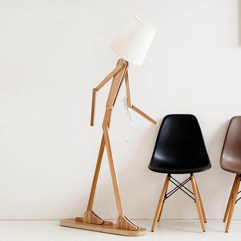 Creative Floor Lamp Personality Variety Body Floor Lamp Can Be Adjusted Interesting Nordic Style