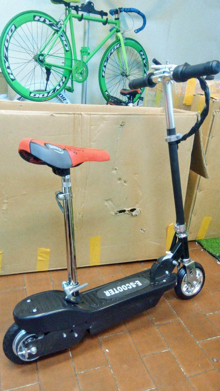 Electric Scooter With Saddle By Beoi Trading.