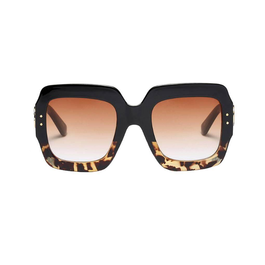 Lady Fashion Styles Luxury Oversized Square Sunglasses Women Men New Designer Retro Frame Sun Glasses