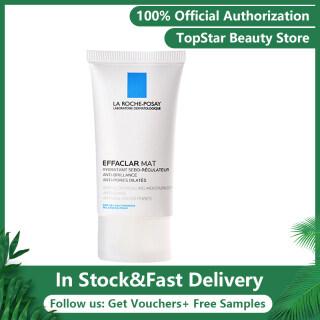 LA ROCHE-POSAY Effaclar Mat 40 ml kem dưỡng ẩm kiểm soát dầu, không gây dị ứng với LHA cho da dầu thumbnail