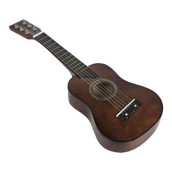 Guitar Acoustic Basswood 25 Inch + Túi + Chọn + Dây Cho Trẻ Em Và Người Mới Bắt Đầu Màu Hoàng Hôn