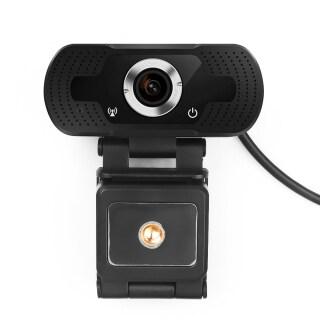 WebCamera Webcam HD 1080P Với Microphone, Xoay Máy Ảnh, Dành Cho Công Việc Hội Nghị Cuộc Gọi Video Phát Sóng Trực Tiếp thumbnail