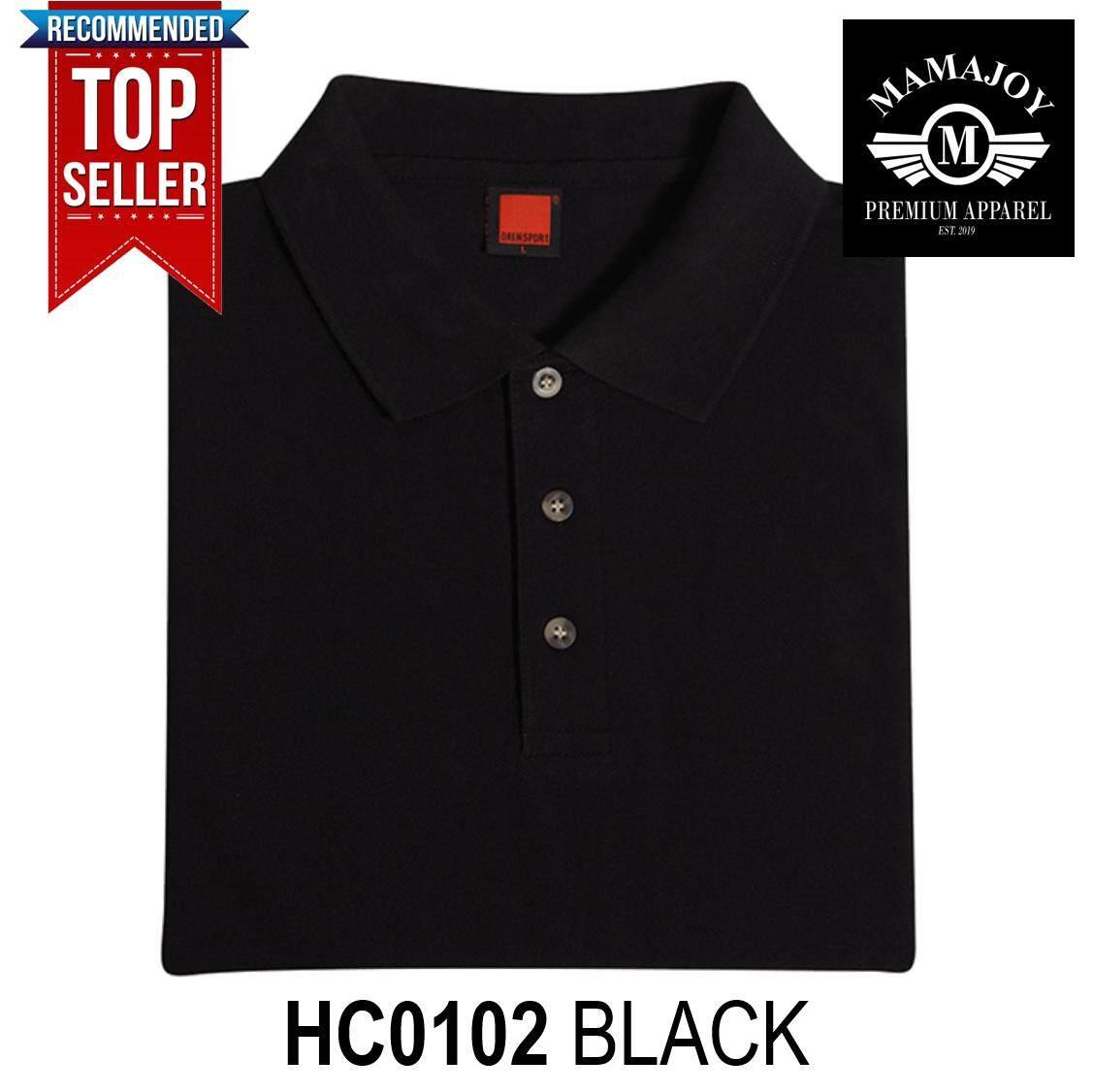 Best Seller Polo Tshirt For Men Women Unisex Summer Fashion Tees T Shirt Baju Kemeja Lelaki New Oren Sport Hc01 Short Sleeve Collar Plain Honeycomb