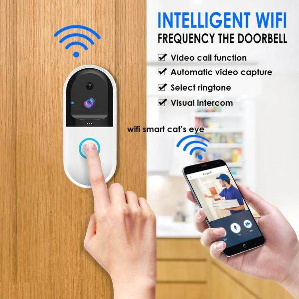 Costel [COD best seller] B50 Wireless WiFi Intercom Video Doorbell Camera Set Door Bell Camera Wifi Video Night Vision