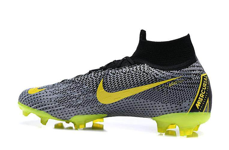 Nike Official MEN Football Shoes Mercurial Superfly VI 360 Elite FG Flyknit  Blue Grey Global Sales ab7f7cfdb4