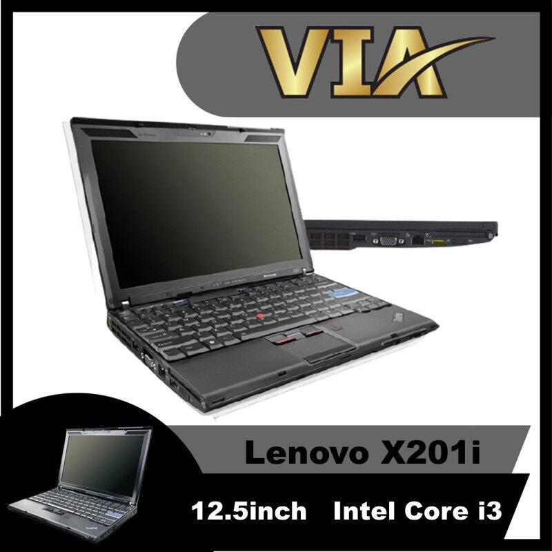 【Webcam】Lenovo Thinkpad X201i-Intel Core i3-1st Gen-4GB RAM-SSD-Thin-Webcam Malaysia