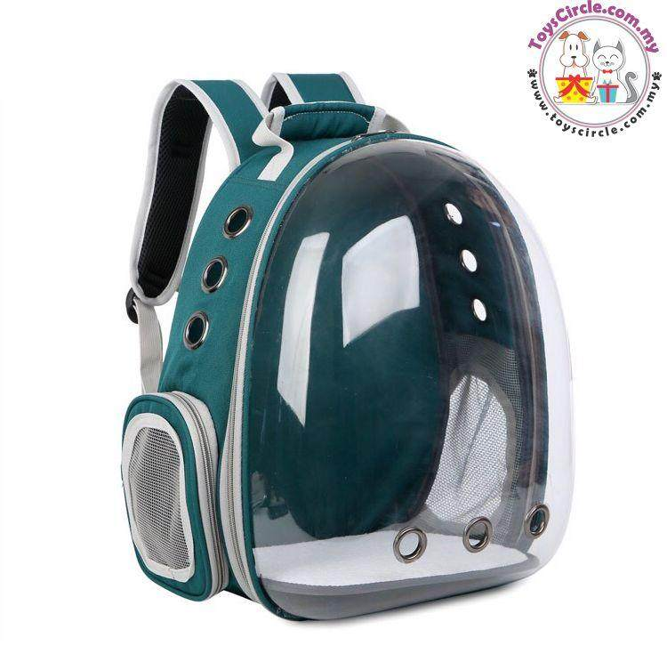 Transparent Astronaut Pet Dog Cat Carrier Bag By Toys Circle Online Pet Shop.