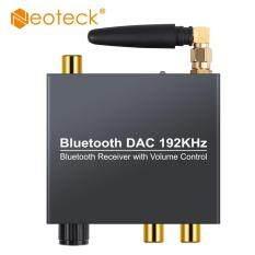 Neoteck 192 kHz Bluethooth ĐẮC Kỹ Thuật Số Sang Âm Thanh Analog với Bộ Thu Bluetooth Có Điều Chỉnh Âm Lượng