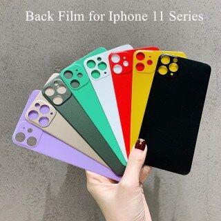 Miếng dán lưng điện thoại 3D màu, bảo vệ màn hình điện thoại mềm mờ 3D cho iPhone 11 Pro max 11 Pro 11 Pro Max thumbnail