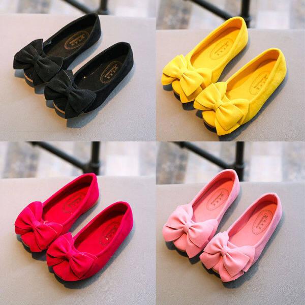 Giá bán Giày Công Chúa Cho Bé Gái Thời Trang Đáng Yêu Giày Đơn Giản Cho Bé Gái Giày Đế Mềm Đế Mềm Cỡ 21-30 Hàng Sẵn Có