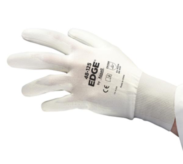 Ansell EDGE® 48-125 White PU Coating Multipurpose Work Glove