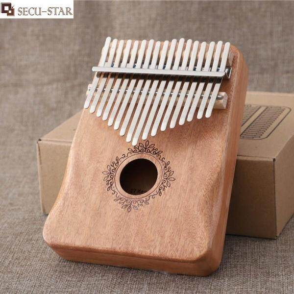 SECU-STAR Kalimba 17 Key Finger Piano Mahogany Piano Musical Instrument Beginner Thumb Piano Malaysia