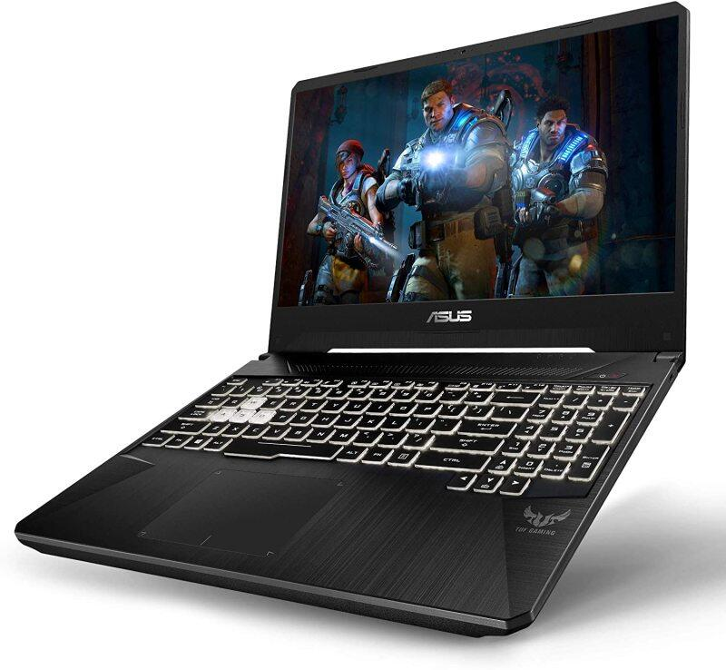 "ASUS TUF Gaming Laptop, 15.6"" 120Hz FHD IPS-Type, AMD Ryzen 7 3750H, GeForce RTX 2060, 16GB DDR4, 512GB PCIe SSD, Gigabit Wi-Fi 5, Windows 10 Home, FX505DV-ES74 Malaysia"