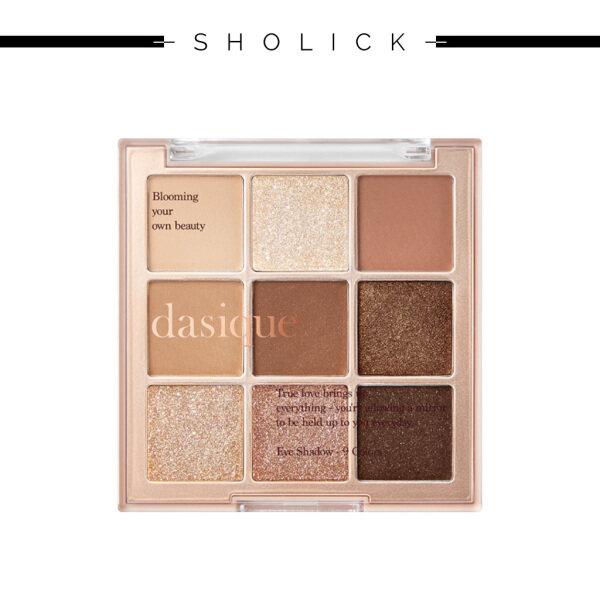 Buy [DASIQUE] Shadow Palette #01 Sugar Brownie 7.0g Singapore