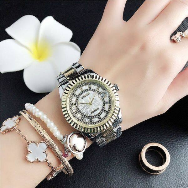 Hot Sale Original Authentic Rolexs Watch For Women Metal Strap Waterproof Fashion Rose Gold 2020 New Malaysia