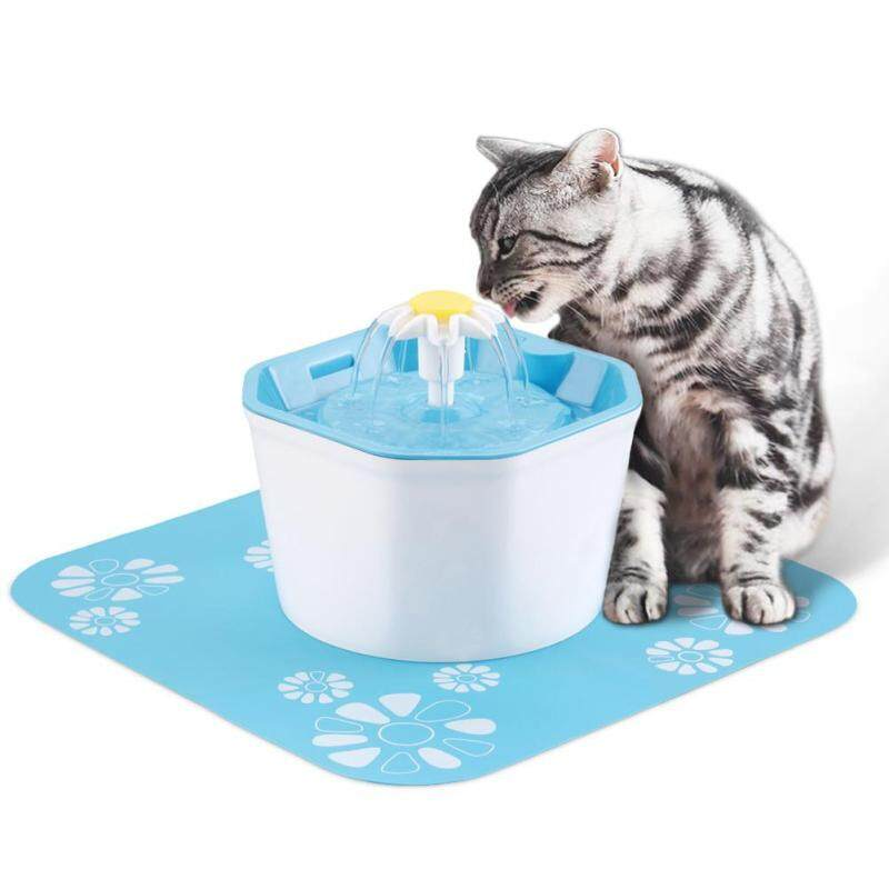 〔questionno〕1.6L Automatic Dog Cat Electric Water Fountain USB Pet Bowl Drinking Filter(READY STOCK & COD & LOW PRICE & HIGH QUALITY)